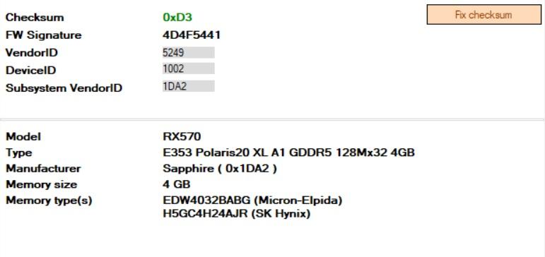 Mining Bios Sapphire Pulse RX 570 4GB Elpida/Hynix - Performance timings -  GPU Mining Bios Mod Database Shop 💲⛏
