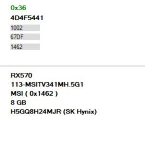 Gaming-X-RX570-8gb-hynix