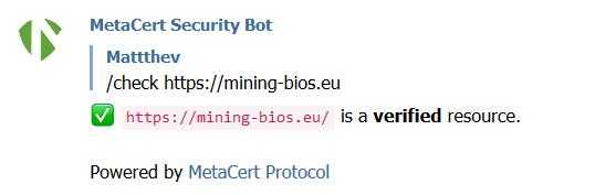 metacert-bot